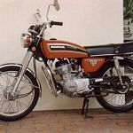 Honda CG125 (1976-85)