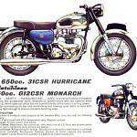 AJS 31CSR 650 Hurricane (1957-66)
