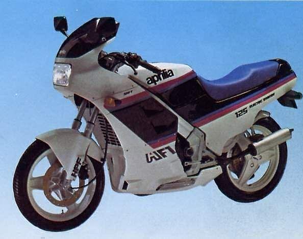 Aprilia AF1 125 (1987)