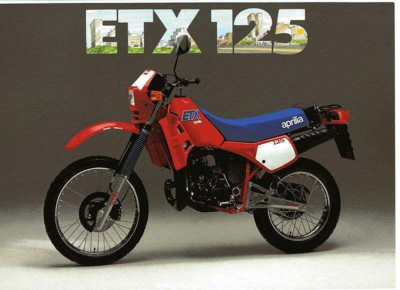 Aprilia ETX 125 (1984-85)