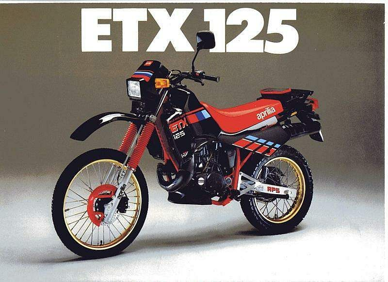 Aprilia ETX125 (1986-87)