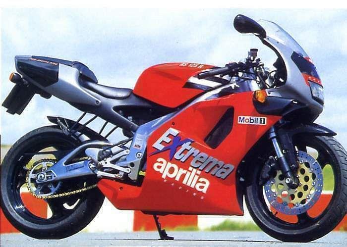 Aprilia RS 125 R Extrema Telaio Lucido (1994)