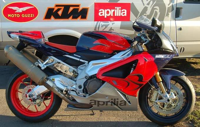 Aprilia RSV 1000 Mille R 10th Anniversary Special (2008)