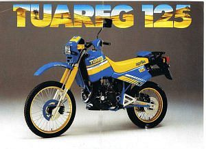 Aprilia Tuareg 125 (1985-86)