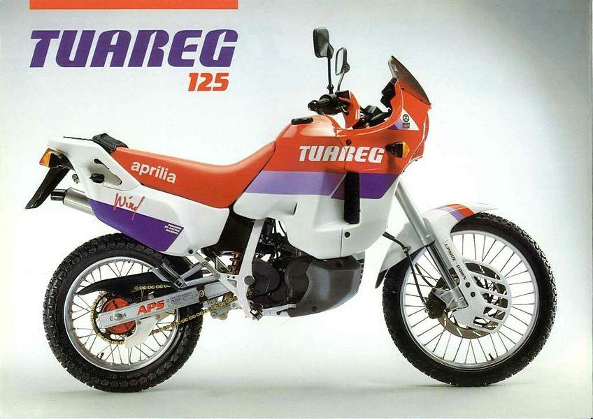 Aprilia Tuareg 125 Wind (1990)