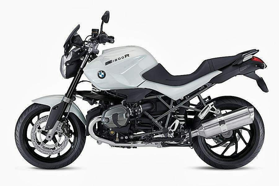 BMW R1200R Dark White Special Edition (2013)