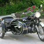 BMW R67/3 with sidecar (1955-56)