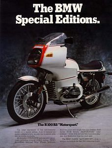 BMW R100RS Motorsport Special Edition (1978)