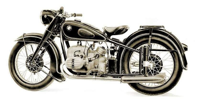 BMW R51/2 (1950-51)