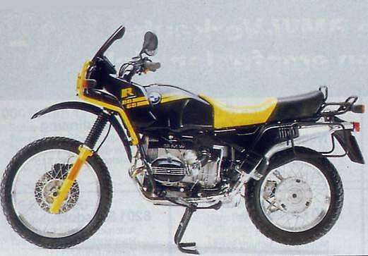 BMW R80 GS (1990-91)
