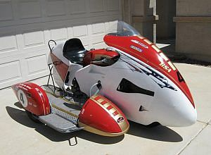 BSA A65 Sidecar Racing (1965-66)