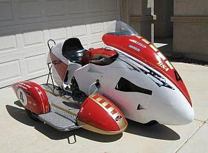 BSA A65 Sidecar Racing (1965-66)