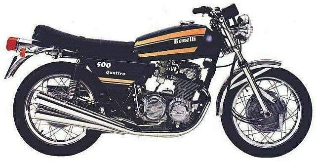 Benelli 500 Quattro (1974-75)