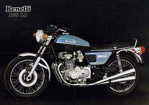 Benelli 500 Quattro (1977)