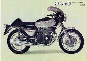 Benelli 650 Tornado (1973-74)