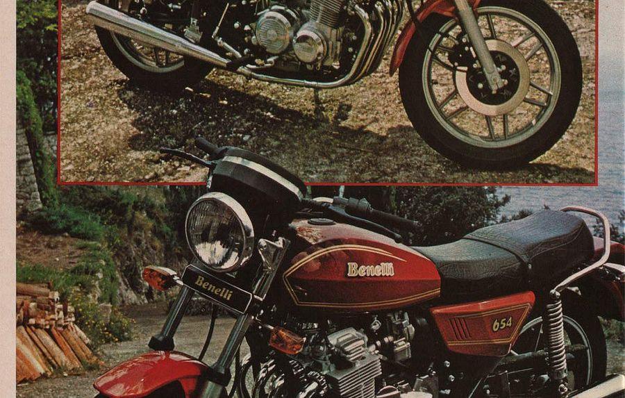 Benelli 654 Sport (1980)