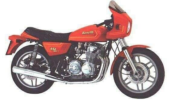 Benelli 654 Sport (1982)