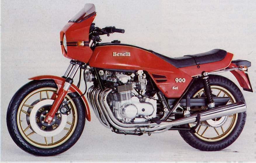 Benelli 900 Sei (1978)