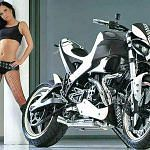 Buell XB12S Lightning Black and White (2007)