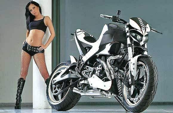 Buell XB12S Lightning Black and White (2007)