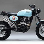 Bullit Hero 125 Scrambler Gulf Oil Limited Edition (2019)