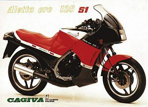 Cagiva Aletta Oro S2 125 (1985)