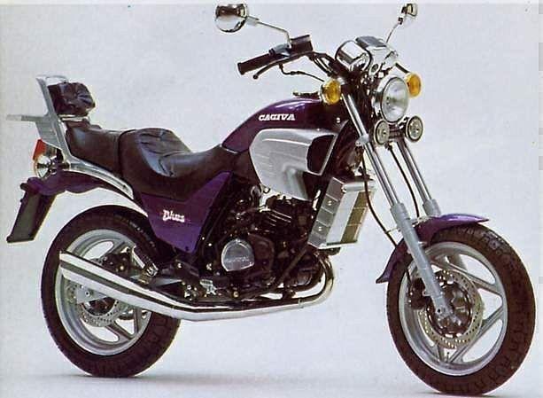 Cagiva Custom Blue 125 (1988)