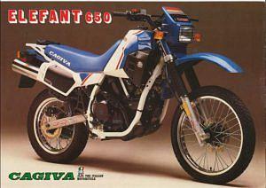 Cagiva 650 elefant (1985-86)