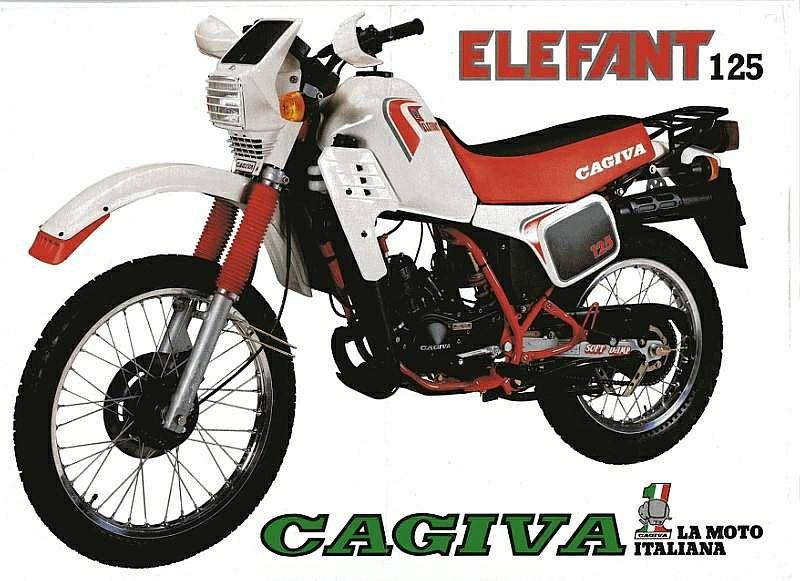 Cagiva 125 Elefant (1984)