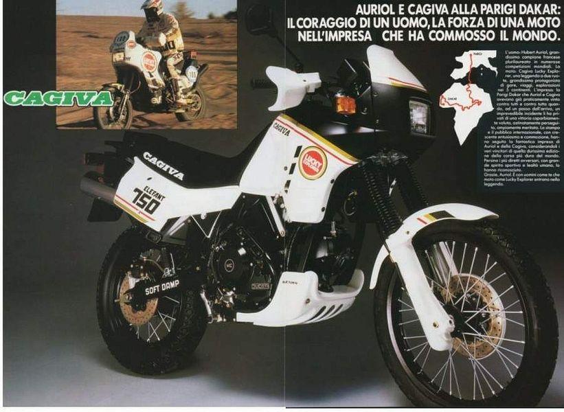 Cagiva 750 Elefant (1987-88)