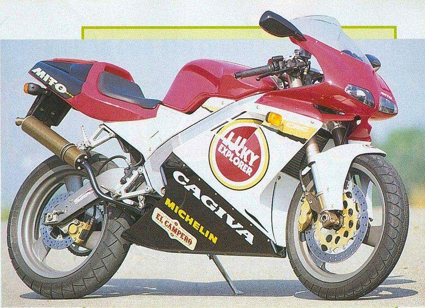 Cagiva Mito 125 Lucky Strike (1995-96)