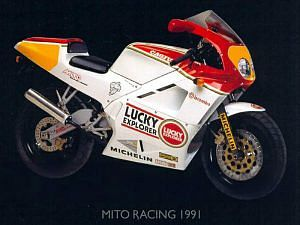 Cagiva Mito 125SP Sport Production Lucky Explorer (1991)