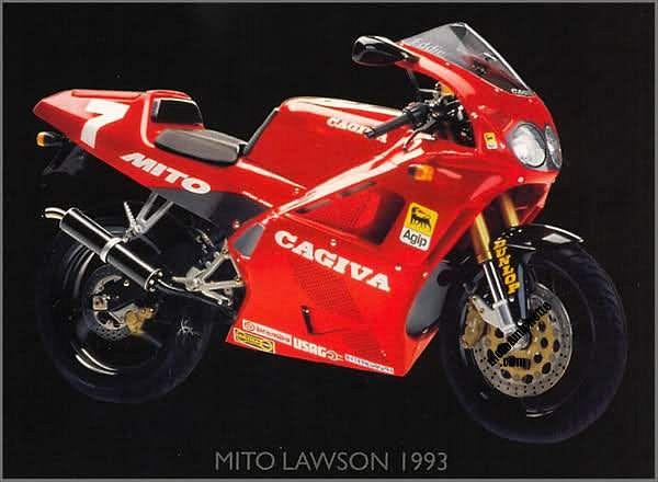 Cagiva 125 Mito Evoluziono (1993)