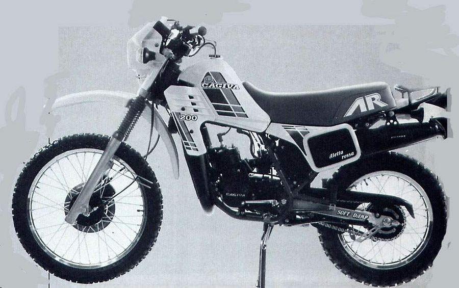 Cagiva SXT 350 Ala Rossa (1982-83)