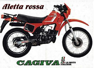 Cagiva SXT 125 Ala Rossa (1982-83)