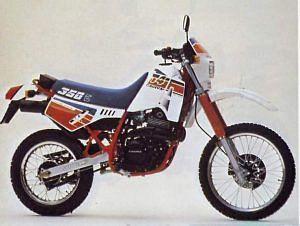 Cagiva T4 350E / R (1987-89)