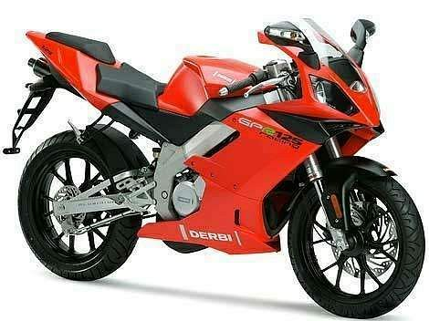 Derbi GPR 125 Racing (2005-06)