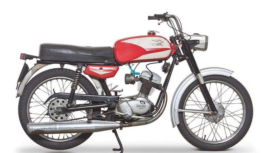 Ducati 125 Cadet/4 / Lusso / Scrambler (1967-68)