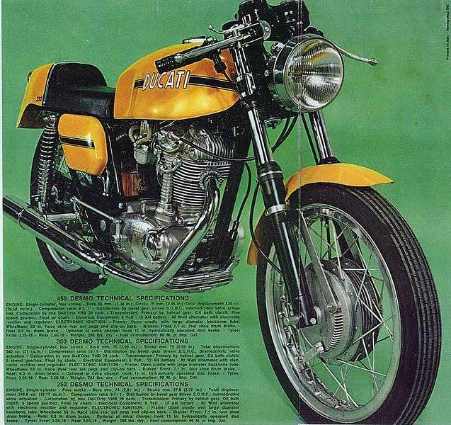 Ducati 250 Desmo (1971)