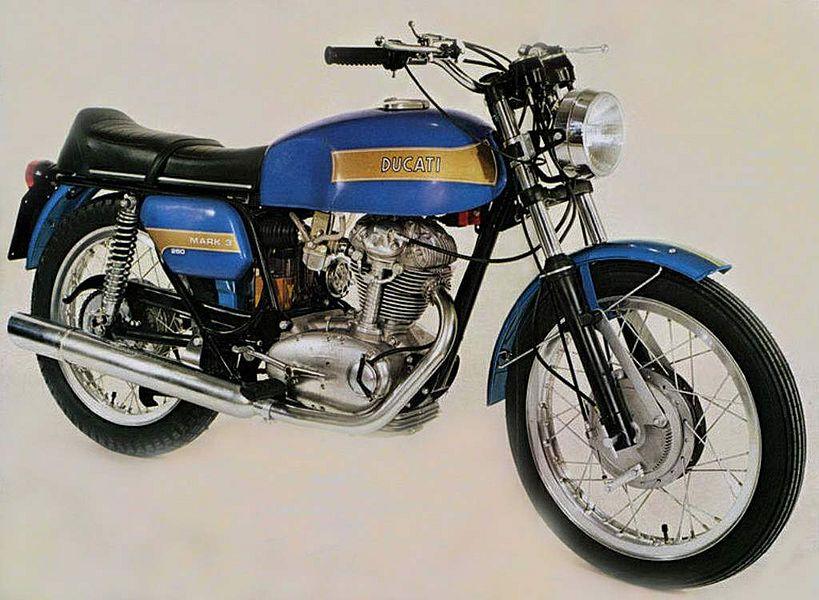 Ducati 350 Mark 3D (1971-75)