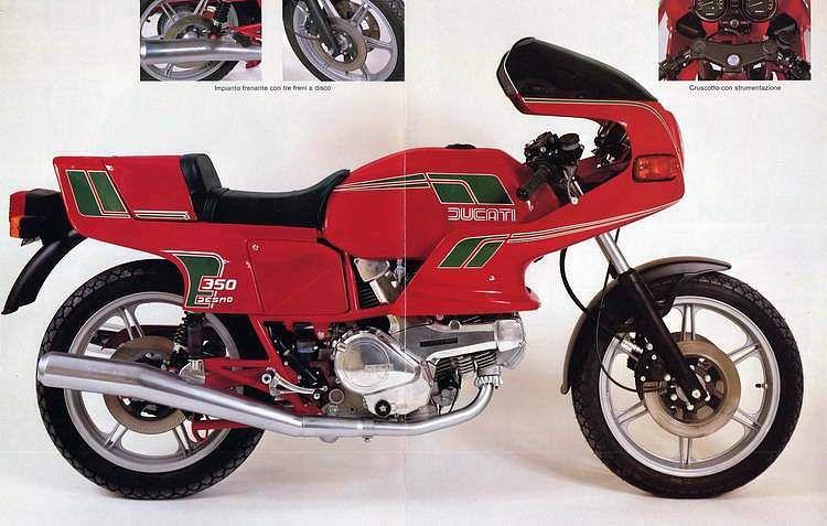 Ducati 350SL/TL Pantah (1983-85)