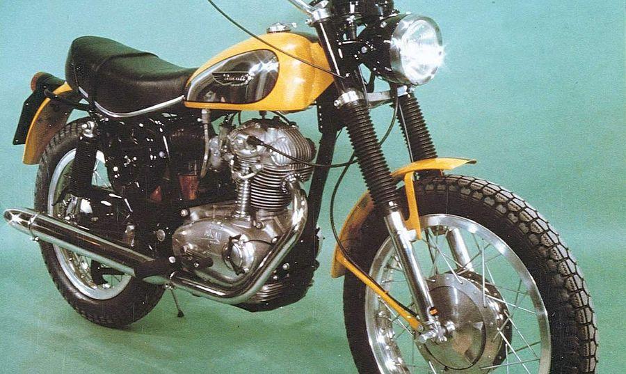 Ducati 450 Scrambler (1970-71)