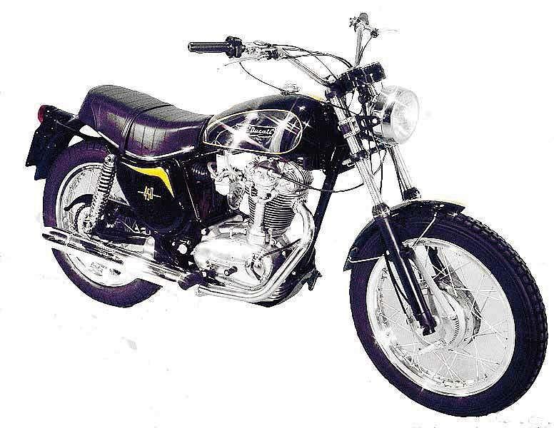 Ducati 450 Scrambler (1973-78)
