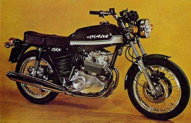 Ducati 500GTL (1975-77)