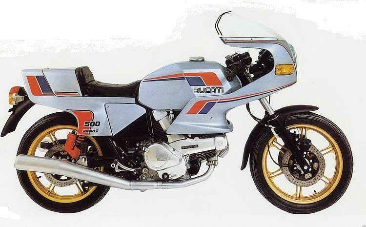 Ducati 500 SL Pantah (1981-83)
