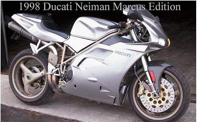 Ducati 748L Neiman Marcus Edition (1998)