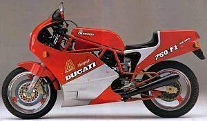 Ducati 750 F1 Montjuich (1986)