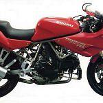 Ducati 750SS Half fairing (1993)