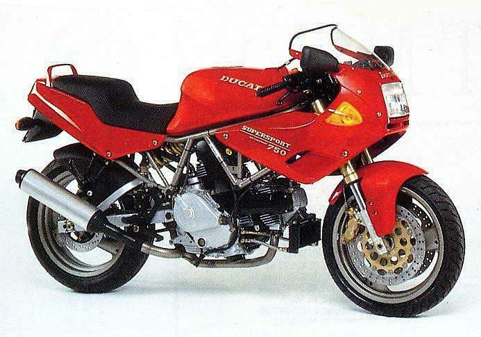 Ducati 750SS Half fairing (1994-96)