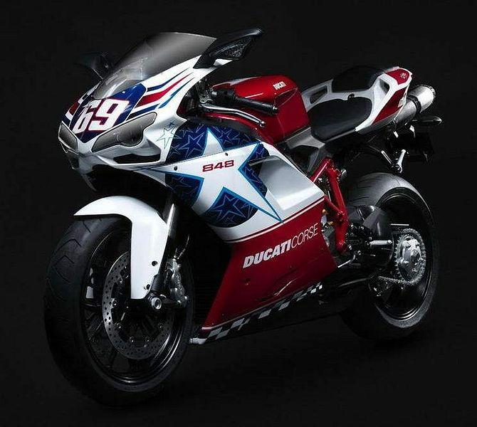 Ducati 848 Nicky Hayden Edition (2010)